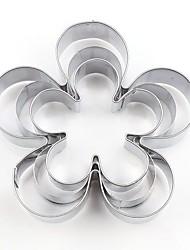 お買い得  -2pcs ステンレス アイデアキッチン用品 デザートツール ベークツール