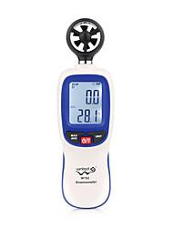 Недорогие -Wintact цифровой измеритель скорости ветра анемометр расходомер воздуха датчик температуры жк-дисплей авто тахометр wt82