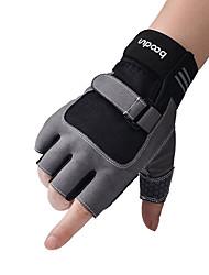 ราคาถูก -BOODUN ที่ยกน้ำหนัก Workout Gloves Lycra® สามารถปรับได้ Non Toxic ทนทาน Full Palm Protection & Extra Grip ระบายอากาศ แห้งเร็ว ฟิตเนส ยิมออกกำลังกาย การยกน้ำหนัก สำหรับ ผู้ชาย ผู้หญิง