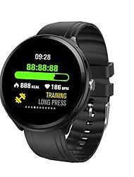voordelige -B12 Unisex Smart horloge Android iOS Bluetooth Smart Sportief Waterbestendig Hartslagmeter Bloeddrukmeting ECG + PPG Stopwatch Stappenteller Gespreksherinnering Activiteitentracker