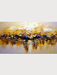 billige -håndmalt lærred oljemaleri abstrakt landskapsdekorasjon uten rammemaleri