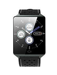 hesapli -KUPENG CK19 Erkek Akıllı İzle Android iOS Bluetooth Smart Sporlar Su Geçirmez Kalp Ritmi Monitörü Kan Basıncı Ölçümü Pedometre Arama Hatırlatıcı Uyku Takip Edici Hareketsiz Hatırlatma Cihazımı Bul