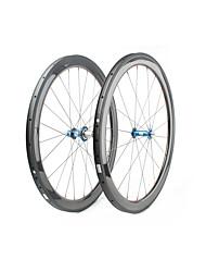 Недорогие -FARSPORTS 700CC Колесные пары Велоспорт 25 mm Шоссейный велосипед Углеродное волокно Однотрубка 20/24 Спицы 50 mm