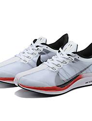 hesapli -Erkek Ayakkabı Elastik Kumaş İlkbahar yaz Atletik Ayakkabılar Koşu Atletik için Beyaz