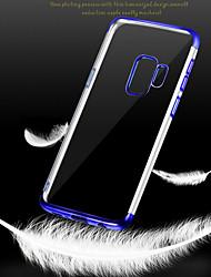 preiswerte -Hülle Für Samsung Galaxy S9 Plus / S9 Beschichtung Rückseite Durchsichtig Weich TPU für S9 / S9 Plus / S8 Plus