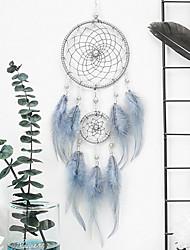 Недорогие -ловушка для снов ручной работы перья в стиле богема