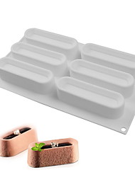 お買い得  -3本 シリカゲル クリエイティブキッチンガジェット アイデアキッチン用品 長方形 デザートツール ベークツール