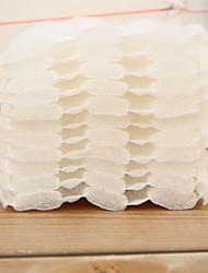 billiga -Enkel Smink 50 pcs Icke-vävda Tyger Kvadrat Dagligen / Ansikte Stilig / Enkel Dagliga kläder Vardagsmakeup Ledigt / vardag Kosmetisk Skötselprodukter