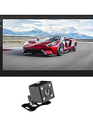 Недорогие -SWM 9218+4LED camera 7 дюймовый 2 Din Android 8.1 Автомобильный мультимедийный проигрыватель / Автомобильный MP5-плеер / Автомобильный MP4-плеер Сенсорный экран / GPS / MP3 для Универсальный RCA