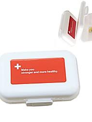 Недорогие -Дорожная сумка / Коробка для хранения / Аптечка первой помощи Водонепроницаемость ПП (полипропилен) 11*7.5*3 cm