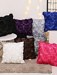 Недорогие -1 штук Бархат Наволочка, 3D-печати Современный стиль Мода Modern Бросить подушку