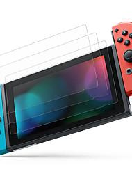 Недорогие -Защитная пленка для стекла Cooho 3шт, совместимая с переключателем Nintendo - Защитная пленка для экрана из закаленного стекла премиум-класса - 0,24 мм для консоли переключателя Nintendo
