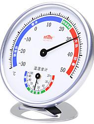 billige -Innendørs termometer Holdbar 1 stk ABS Hjem Måler temperatur og fuktighet