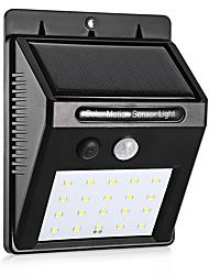 Недорогие -1 шт. 0.5 Вт 3.7 В светодиодная солнечная энергия пир датчик движения настенный светильник 20 светодиодный открытый водонепроницаемый энергосберегающие улица двор путь домой сад безопасности лам