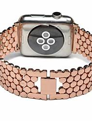 voordelige -Horlogeband voor Apple Watch Series 4/3/2/1 Apple Klassieke gesp Metaal Polsband