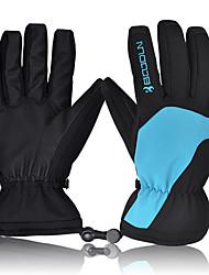 Недорогие -Лыжные перчатки Муж. Снежные виды спорта Полный палец Зима PU Снежные виды спорта Зимние виды спорта