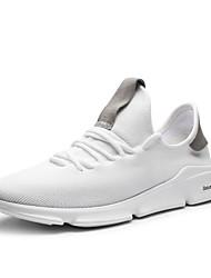Χαμηλού Κόστους -Ανδρικά Παπούτσια άνεσης Δίχτυ Άνοιξη Αθλητικά Παπούτσια Λευκό / Μαύρο