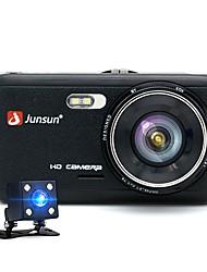 Недорогие -JUNSUN H7 1296P HD Давление Автомобильный видеорегистратор 170 градусов широкоугольный 1/3 дюйма цветной смос 4-дюймовый ips видеорегистратор с ночным видением / g-датчик / обнаружение движения 2