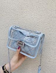 رخيصةأون -نسائي أكياس PVC حقيبة كروس سحاب وردي بلاشيهغ