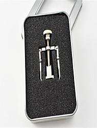 billiga -1set Rostfritt stål Verktygsväska Till tå Kan tas bort / Hållbar White Series nagel konst manikyr Pedikyr Enkel Dagligen