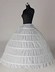 Недорогие -Невеста Classic Lolita 1950-е года Платья Нижняя юбка Кринолин Жен. Девочки Костюм Белый Винтаж Косплей Хлопок Для вечеринок Выступление Принцесса