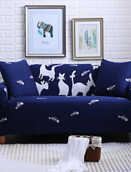 cheap -Cartoon Deer Durable Soft High Stretch Slipcovers Sofa Cover Washable Spandex Couch Covers