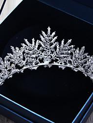 preiswerte -Aleación Tiaras mit Kristall 1 Stück Hochzeit / Besondere Anlässe Kopfschmuck