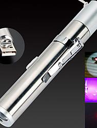 Недорогие -BRELONG® 1шт LED Night Light Белый USB Перезаряжаемый / Меняет цвета / Экстренная ситуация 5 V