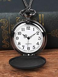 Недорогие -Муж. Карманные часы Кварцевый Черный Повседневные часы Крупный циферблат Аналоговый На каждый день - Черный