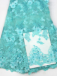 preiswerte -Spitze Blumen Stickerei 125 cm Breite Stoff für Bekleidung und Mode verkauft bis zum Yard