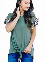 povoljno -Majica s rukavima Žene Jednobojni Djetelina L
