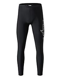 tanie -SABOLAY Damskie Legginsy do nurkowania Oddychający Ultra lekki (UL) Chinlon Elastyna Stroje kąpielowe Stroje plażowe Doły Solidne kolory Pływacki Nurkowanie z rurką / Średnio elastyczny