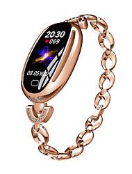 olcso -BoZhuo E68 Női Intelligens karkötő Android iOS Bluetooth Vízálló Szívritmus monitorizálás Vérnyomásmérés Elégetett kalória Információ Lépésszámláló Hívás emlékeztető Alvás nyomkövető ülő Emlékeztet