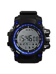 voordelige -D-Watch01A Unisex Smart horloge Android iOS Bluetooth Smart Sportief Waterbestendig Lange stand-by Informatie Timer Stopwatch Stappenteller Gespreksherinnering Slaaptracker