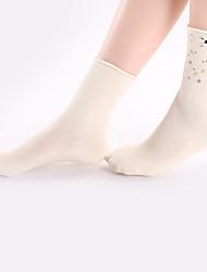billige -kvinders bomulds-medium sexet sokker 680d