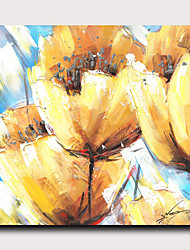 cheap -Print Stretched Canvas Prints - Abstract Botanical Modern