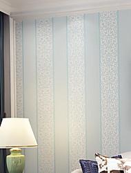 Χαμηλού Κόστους -ταπετσαρία Nonwoven Κάλυψης τοίχων - Αυτοκόλλητα Γεωμετρικό