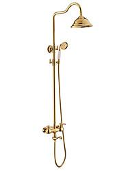 hesapli -Duş Musluğu - Çağdaş / Antik Diğer Seramik Vana Bath Shower Mixer Taps