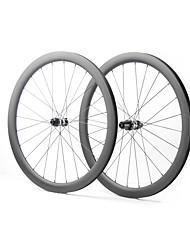 Недорогие -FARSPORTS 700CC Колесные пары Велоспорт 26 mm Шоссейный велосипед Углеродное волокно Подходит для клинчерной покрышки / бескамерной шины 24/24 Спицы 35 mm / 40 mm