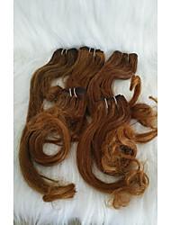 Χαμηλού Κόστους -Μαλλιά για πλεξούδες Σγουρά Προέκταση Αγνή Τρίχα 1set μαλλιά Πλεξούδες Καφέ 10 inch 10 ίντσες Γυναικεία / επέκταση / Sexy Lady Ημερομηνία / Δρόμος Other