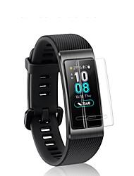 Недорогие -Защитная плёнка для экрана Назначение Huawei Honor Band 3 PET HD / Зеркальная поверхность / Ультратонкий 1 ед.