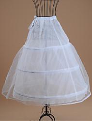 Недорогие -Невеста Classic Lolita 1950-е года Платья Нижняя юбка Кринолин Жен. Девочки Костюм Белый Винтаж Косплей Свадьба Для вечеринок Принцесса