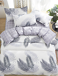 cheap -Duvet Cover Sets Contemporary Polyster Printed 4 PieceBedding Sets