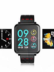 hesapli -KUPENG T2 Kadın Akıllı Bilezik Android iOS Bluetooth Smart Sporlar Su Geçirmez Kalp Ritmi Monitörü Kan Basıncı Ölçümü Pedometre Arama Hatırlatıcı Aktivite Takipçisi Uyku Takip Edici Hareketsiz