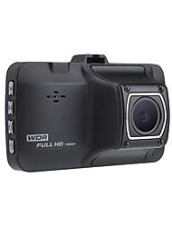 Недорогие -HD / Ночное видение / Загрузочная автоматическая запись Автомобильный видеорегистратор 170° Широкий угол 3 дюймовый LTPS Капюшон с