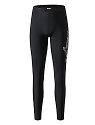 tanie -SABOLAY Męskie Legginsy do nurkowania Oddychający Ultra lekki (UL) Chinlon Elastyna Stroje kąpielowe Stroje plażowe Doły Solidne kolory Pływacki Nurkowanie z rurką / Średnio elastyczny