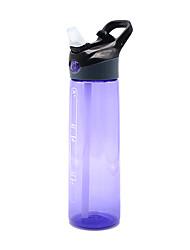 Недорогие -Бутылки для воды Бутылка для воды 700 ml PP Прочный для Отдых и Туризм Велосипедный спорт / Велоспорт Путешествия Черный Фиолетовый Пурпурный Синий