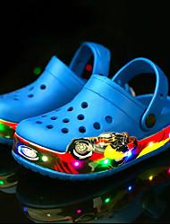 abordables -Chico / Chica Zapatos Nailon / Látex Verano Innovador / Zapatos con luz Sandalias Agua / Antideslizantes Borla / LED para Niños / Bebé Rosa / Azul Real / Botines / Hasta el Tobillo