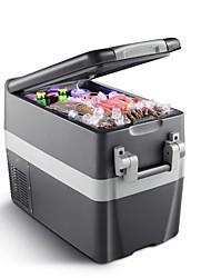 Недорогие -litbest автомобильный холодильник 30 л малошумный двойной холодильник портативный сенсорный экран управления холодильником для автомобилей и дома 12/24/220 В