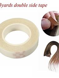 billige -Paryk Tilbehør / Værktøj og tilbehør polyurethaner / Gel Paryk lim / klæbemiddel Tape Vandafvisende 2 pcs Daglig Basale Gennemsigtig